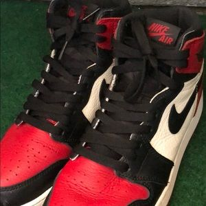 """Jordan Shoes - Jordan 1 """"Bred Toe"""""""
